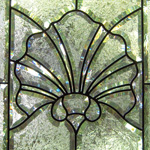 Beveled glass shell