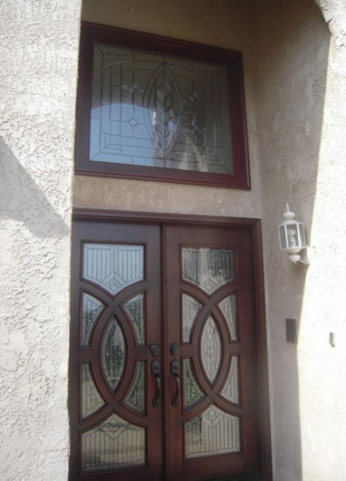 BGW Beveled Glass Doors